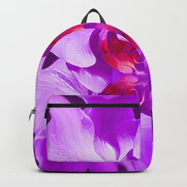 Abstract Orchid In Lavender Backpack