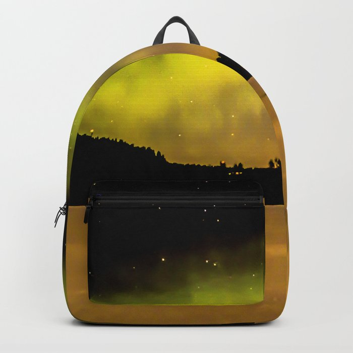 Northern Lights Fill The Sky Backpack