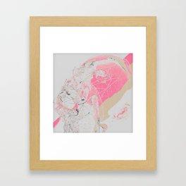 Hmmmmmmmmmmm?! Framed Art Print