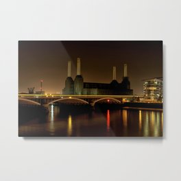 Battersea Power station Metal Print