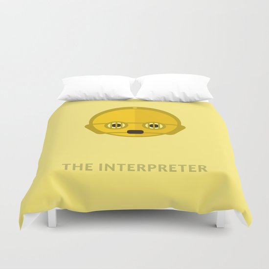SW C-3PO The Interpreter Duvet Cover