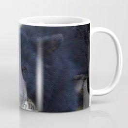 Wildlife Series Black Bear By Moon Willow Designs Coffee Mug