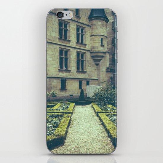 French Garden Maze iPhone & iPod Skin