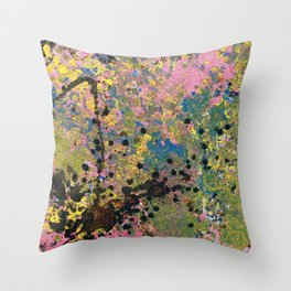 Aging Vixen Throw Pillow