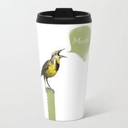 Murderlark (White) Travel Mug