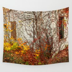 Somewhere in Rhode Island - Abandoned Mill 002 Wall Tapestry