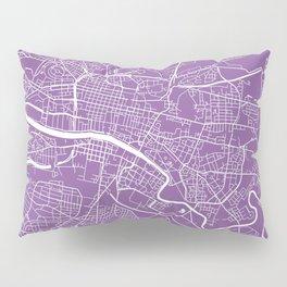Glasgow map lilac Pillow Sham