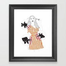 Blowfish #2 Framed Art Print