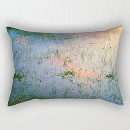 Reflection #Sky #Water Rectangular Pillow