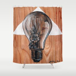 The Gatherers of Simples Shower Curtain