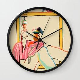 HOLIDAYS AT HOME Wall Clock