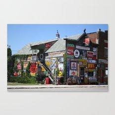 The Marathon Pub Canvas Print