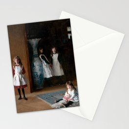John Singer Sargent The Daughters of Edward Darley Boit 1882 Stationery Cards