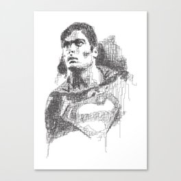 Christopher Reeve Portrait Canvas Print