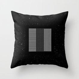 MOODULAB 003: tres Throw Pillow