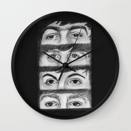 FAB FOUR EYES Wall Clock
