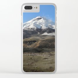 Cotopaxi volcano Clear iPhone Case