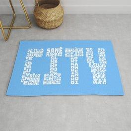Manchester City 2018 - 2019 Rug