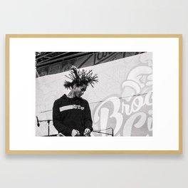 Jaden Smith Framed Art Print