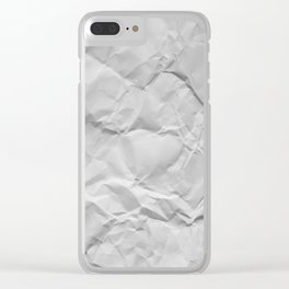 Wrinks and Crumps Clear iPhone Case