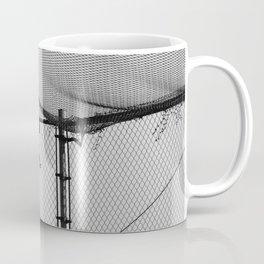 Hanging Sneakers Coffee Mug