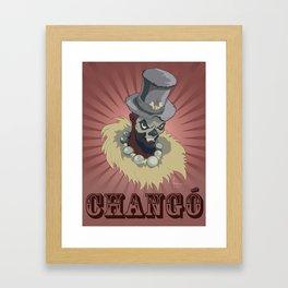 PAPA CHANGO Framed Art Print