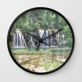 Hanging Lake Wall Clock
