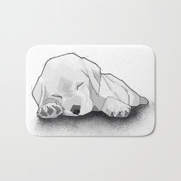 Sleeping Puppy Bath Mat