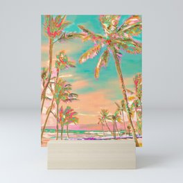 Hawaii Beach, Mauna Lani Bay Mini Art Print