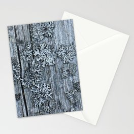 Lichen on Wood Stationery Cards