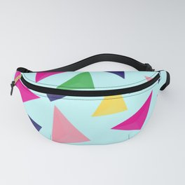 Colorful geometric pattern VIV Fanny Pack