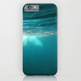 natural underwater background iPhone Case