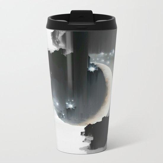 Cloud Falls Metal Travel Mug