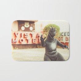 Godzilla Attacks Arizona Bath Mat