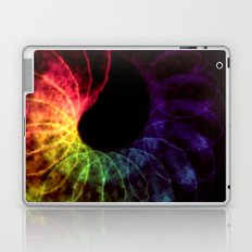 Spiraling Leaf Laptop & iPad Skin