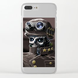 Plan 9 From Planet Earth Clear iPhone Case