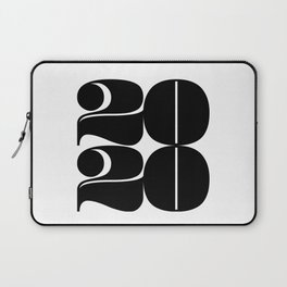 2020 Year | Typography | Square Laptop Sleeve