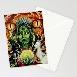 Shakti Maa is Watcing Stationery Cards
