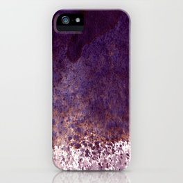 splattering, from the top iPhone Case