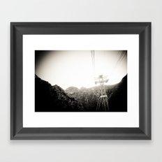 Deep Breathing Framed Art Print