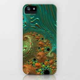 Cool Creamsicle - Fractal Art iPhone Case