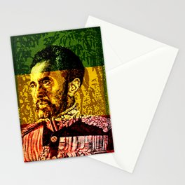 Haile Selassie King Stationery Cards