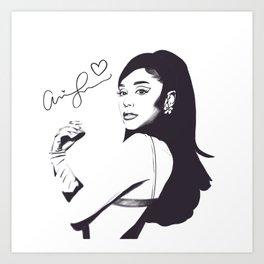 Love, ArianaGrande  Art Print