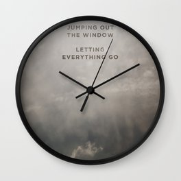 A Beautiful Death Wall Clock