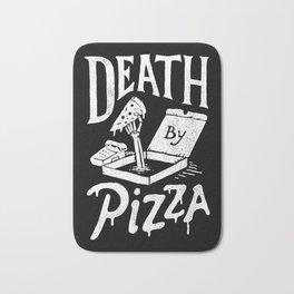 Death by Pizza Bath Mat