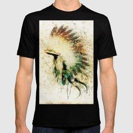 Native American Boho Headdress Sideview T-shirt