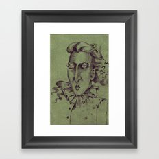 Madame Lulu Framed Art Print