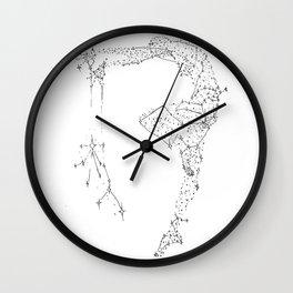 Written In the Stars Wall Clock