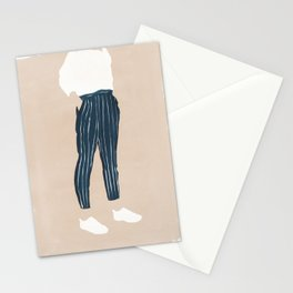 Pinstriped Stationery Cards