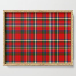 Classic Woven Tartan Serving Tray